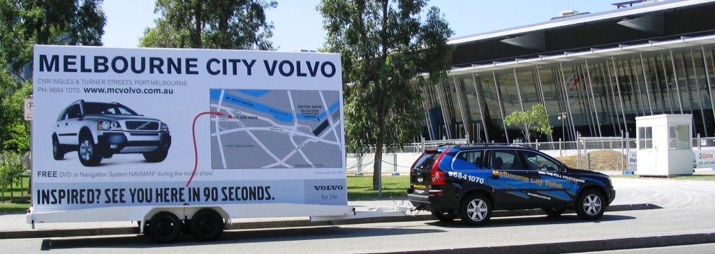 Events and Promotions using Mobile Billboard Advertising